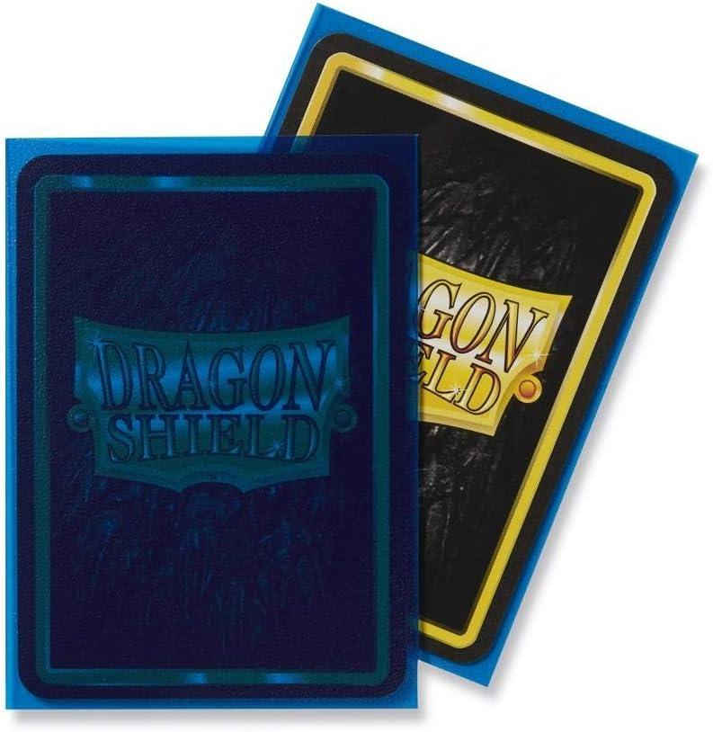 Arcane Tinmen ART11033 Dragon Shield Standard Sleeves Matte Size 100pk-Clear Blue Semitransparent Multicoloured