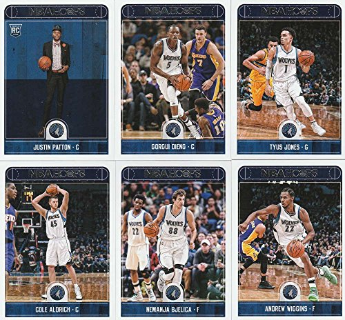 2017 18 Panini Nba Hoops Minnesota Timberwolves Team Set Of 11 Cards  Jimmy Butler  18   Jamal Crawford  46   Jeff Teague  151   Taj Gibson  215   Karl Anthony Towns  217   Andrew Wiggins  219   Gorgui Dieng  222   Tyus Jones  223   Cole Aldrich  224   Nemanja Bjelica  225   Justin Patton  266