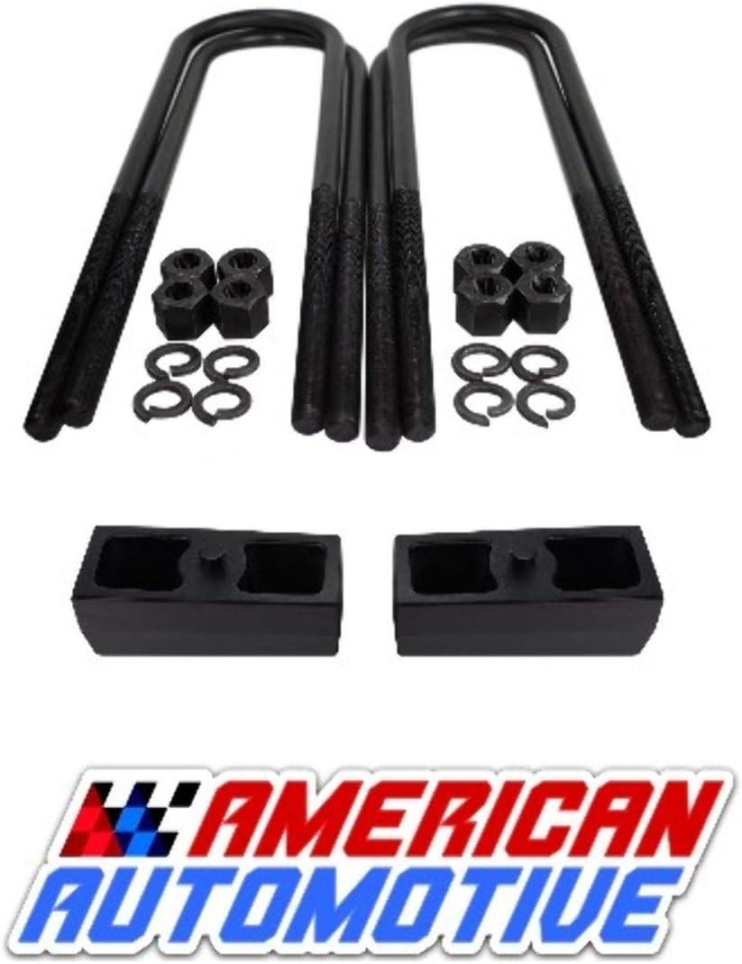 American Automotive 2002-2008 RAM 1500 2WD// 4WD 3 Rear Lift U Bolts 11 Extra Long OEM Material