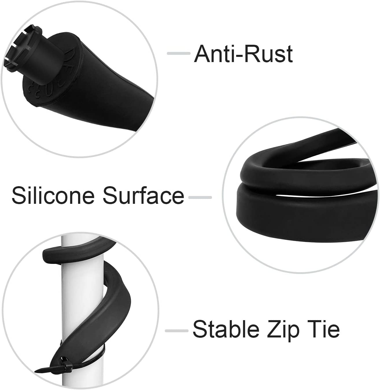 Blink Mini and Blink Indoor and Outdoor Camera 3Pack 【Upgraded version】HOLACA Flexible Twist Mount for Blink XT2