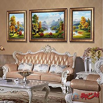 Nzgjqt Art Tableau Décoration Murale Salon Paysage Paysages Canapé