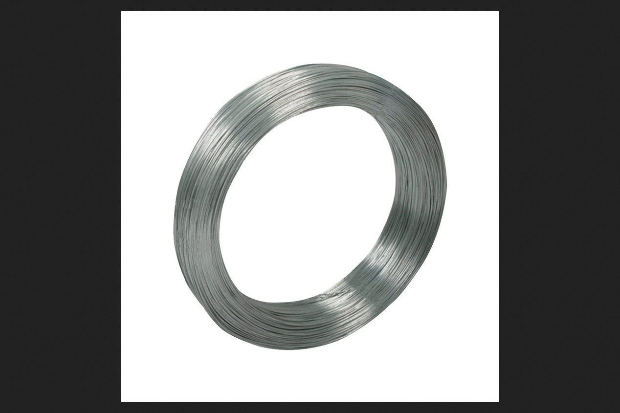 Deacero Steel Smooth Wire 1711 ft. L (5572)