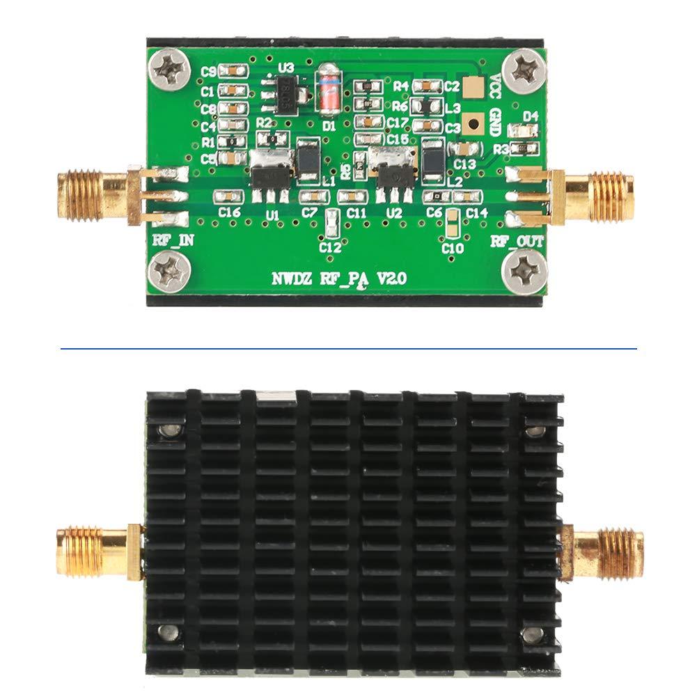 Ancha de 2 MHz a 700 MHz con Mando a Distancia de Ondas Cortas FM Amplificador de potencia para Juguetes de Radio RF de Banda