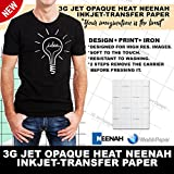 inkjet printer heat transfer - INKJET TRANSFER PAPER FOR DARK FABRIC: NEENAH