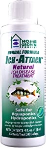 HOME GROWN PONICS #96020 Ich Attack Natural Disease Inhibitor, 4-Ounce