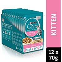 Purina One Kitten with Chicken Wet Cat Food, 12 Pouch 0.92 kilograms