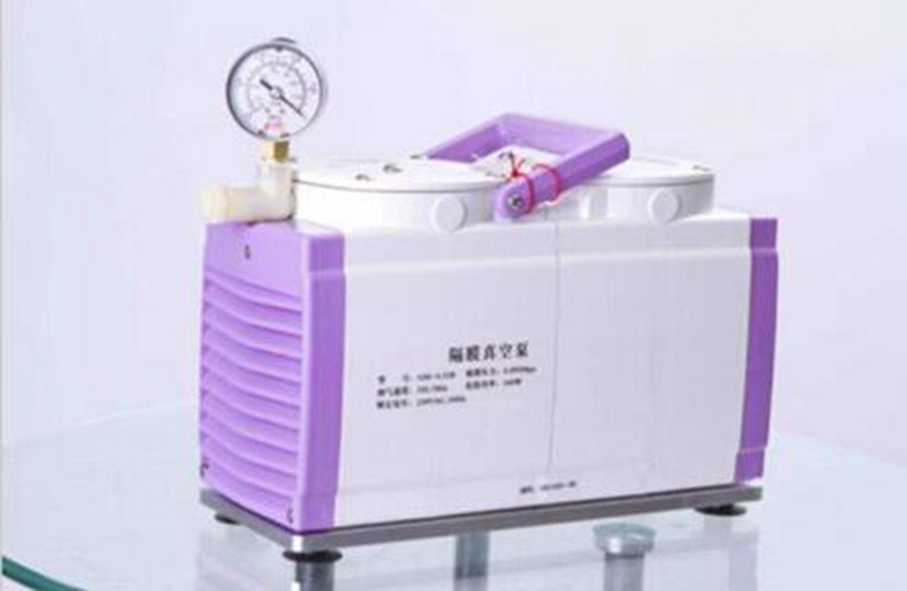 Welljoin Diaphragm Vacuum Pump Oil Free Dual Head 20 L/min GM-0.33B