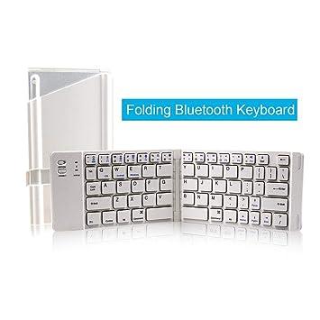 Alian Teclado Inalámbrico BK-228 Bluetooth Teclado Portátil y Plegable para MacBook para Tabletas iOS/Android / Windows Phone: Amazon.es: Electrónica
