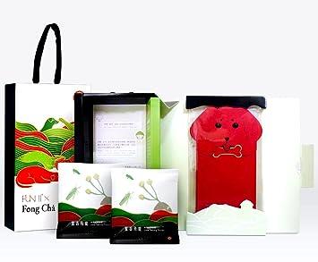 Fun II Fong chá Taiwanés Oolong té Caja de Regalo, bolsas de ...