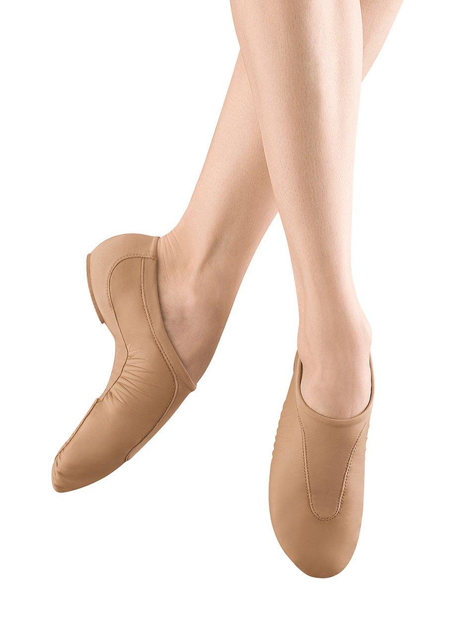 Bloch Dance Women's Pulse Jazz Shoe, Tan, 8 M US