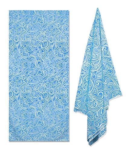 Fundia Extra Large Microfiber Pool Thin Beach Towel (78