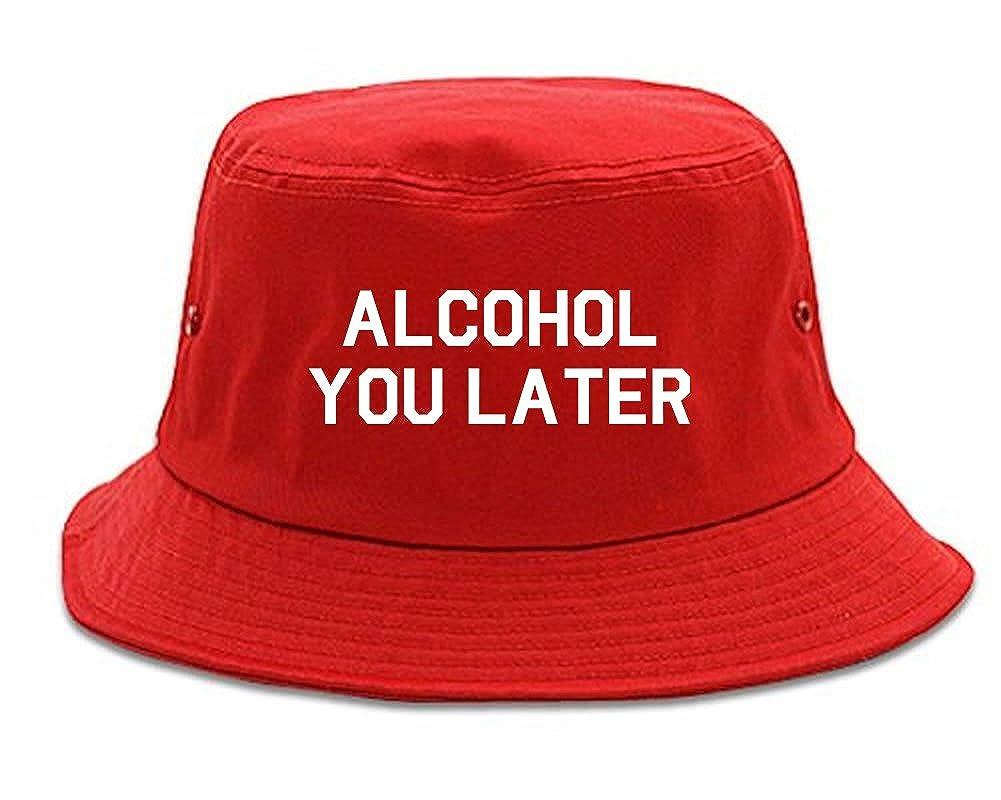 FASHIONISGREAT Alcohol You Later Funny Drinking Bucket Hat 1FIG2BULKBUCK-227