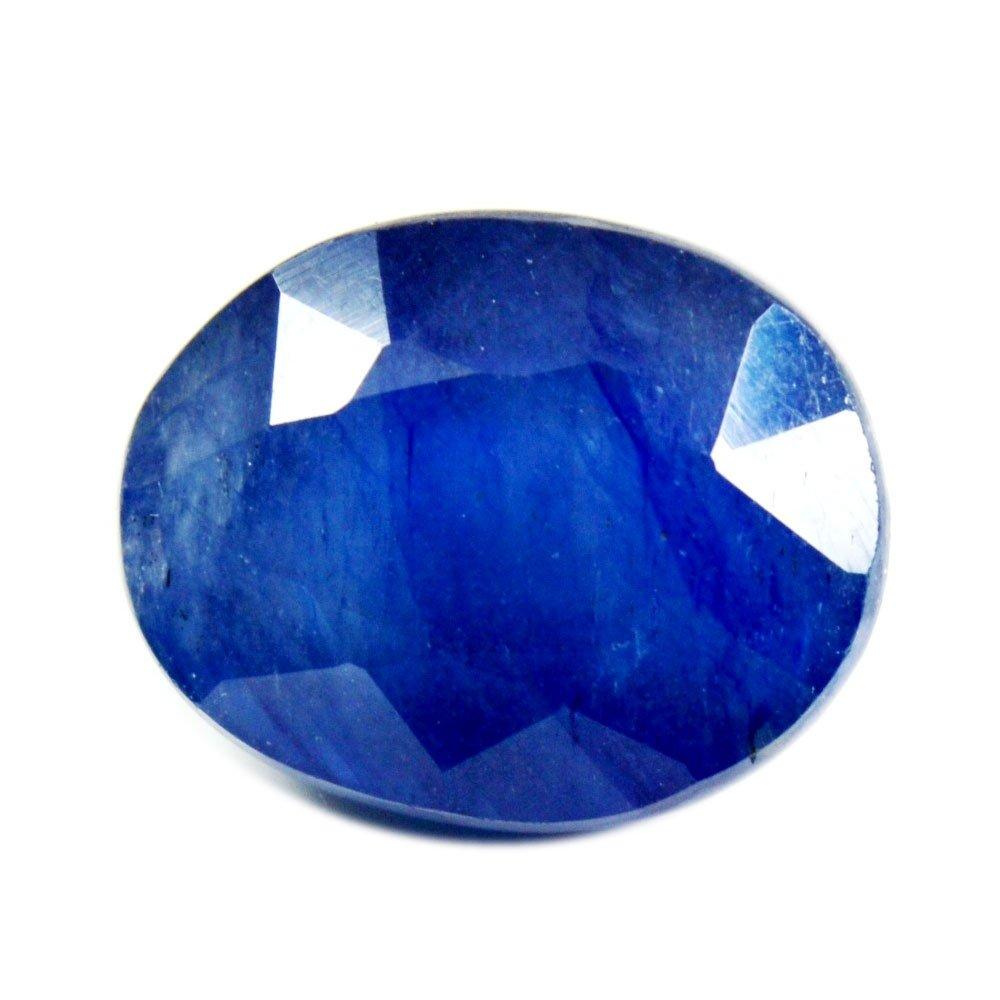 Pierre précieuse ovale naturelle de 55 carats, bleu saphir 55Carat 55BELG5