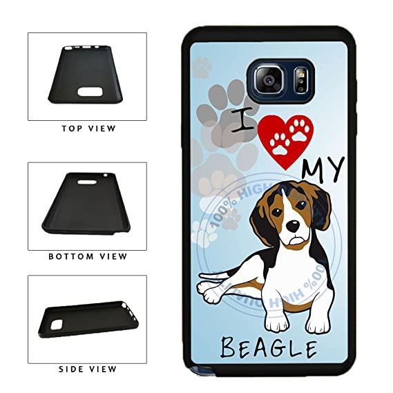 Amazon.com: BleuReign(TM) I Love My Beagle Dog Lover TPU ...