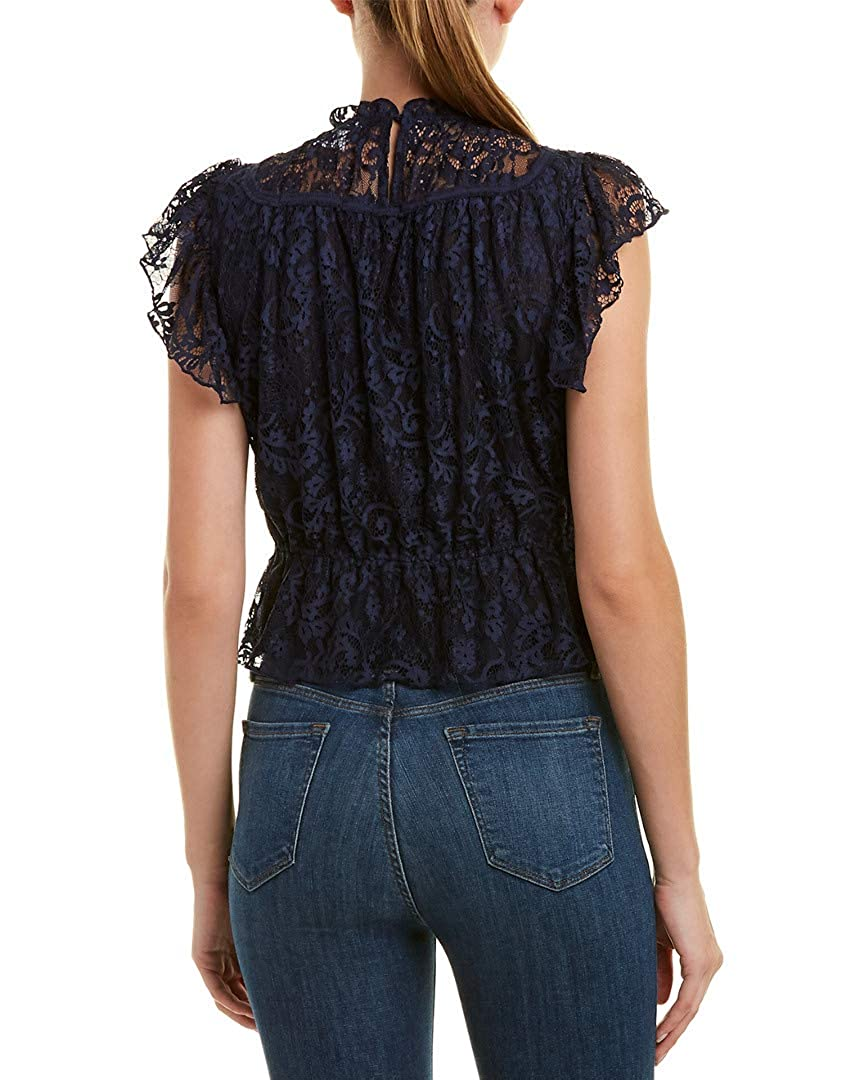 Blue Xs Foxiedox Womens Lace Top