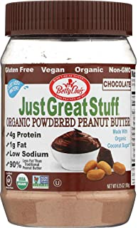 StarSun Depot Chocolate Organic Powdered Peanut Butter, 6.43oz (1 Item)
