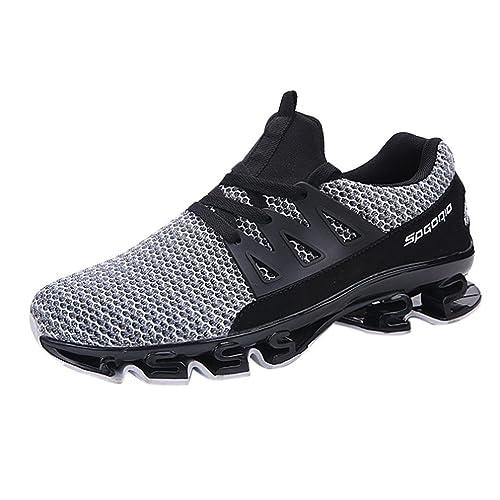 Logobeing Zapatillas de Deporte Casual para Hombre con Deslizamiento en La Pala Ofertas Zapatillas de Running de Malla para Correr Al Aire Libre 39-46: ...