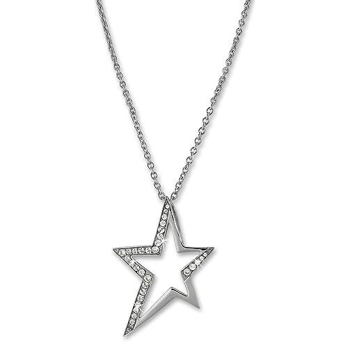 Amello collar, diseño de brillantes, color blanco, joyas de ...