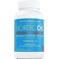 Curcuma Turmeric BIO 600 mg avec Curcumine & Poivre Noir | 180 Capsules Avec Enveloppe Végétale (convient aux végétariens) | Certifié SOIL ASSOCIATION