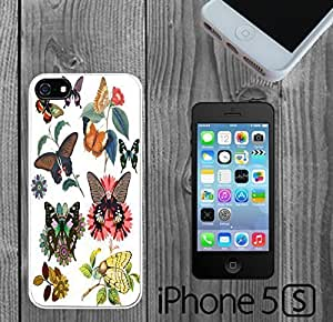 Butterfly Flower Custom made Case/Cover/skin FOR iPhone 5/5s