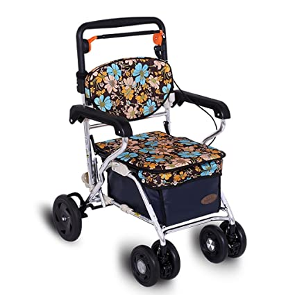 Carritos de la compra Carro de la Compra Carro de Ancianos Carro comestibles Se Puede sentar