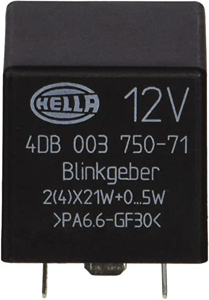 HELLA 4DB 003 750-711 Rel/é de intermitencia electr/ónico 12V