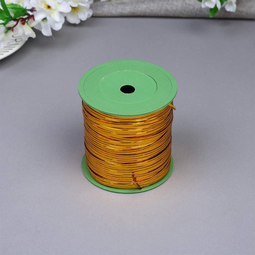 XFentech Bag Ties Green 360m Metallic Twist Ties for Bouquet Packaging//Cellophane Party Bag