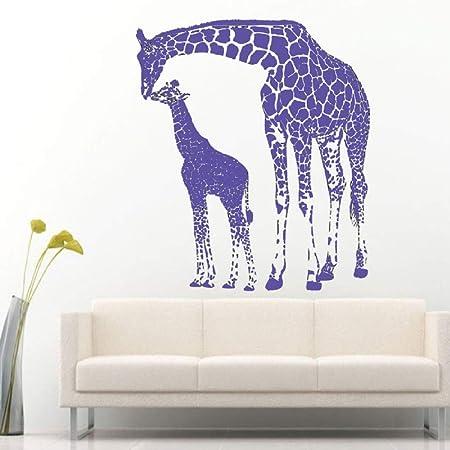 Artiste Maison Decorer Bebe Girafe Avec Sa Maman Girafe