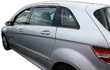 J J Automotive Windabweiser Regenabweiser Für Mercedes B Klasse I W245 5 Türer 2005 2011 4tlg Heko Dunkel Auto