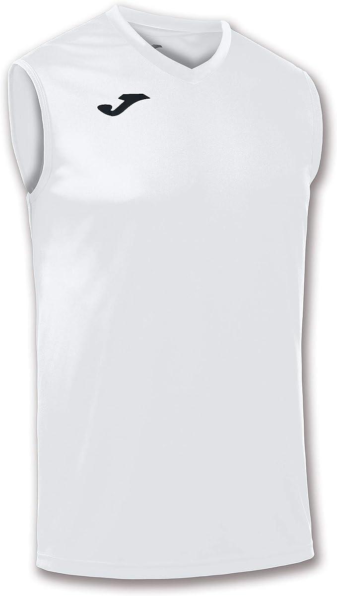 Taglia S//M Joma/ Colore Bianco /Maglietta Combi da Uomo