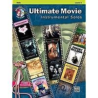 Ultimate Movie Instrumental Solos: Violin, Levels 2-3 + CD
