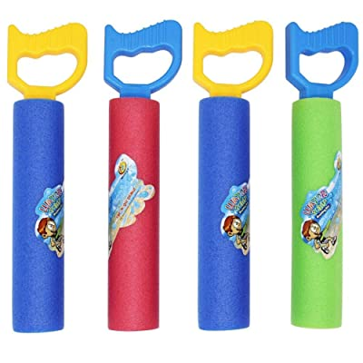 winemana Water Guns for Kids, 4 Pack Water Blasters for Kids, Water Squirters for Summer Party Pool or Beach (A): Toys & Games