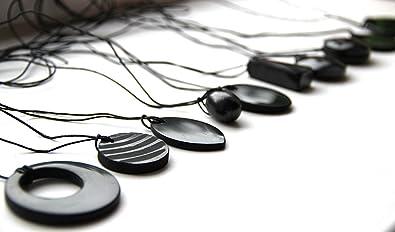 Karelian Heritage Shungite Pendant Set for Chakra Balancing, EMF Protection  Jewelry