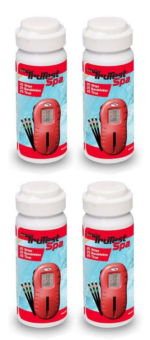 AquaChek 4 522255 Spa Hot Tub TruTest Digital Strip Reader Bottles - 200 Strips by AquaChek