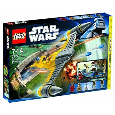 LEGO (LEGO) Star Wars Naboo Fighter 7877: Toys & Games