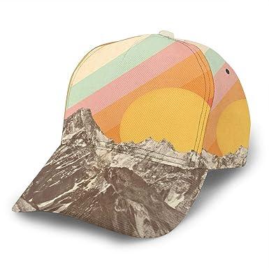 Liliylove Mountainscape Gorra de béisbol Ajustable para Mujer y ...