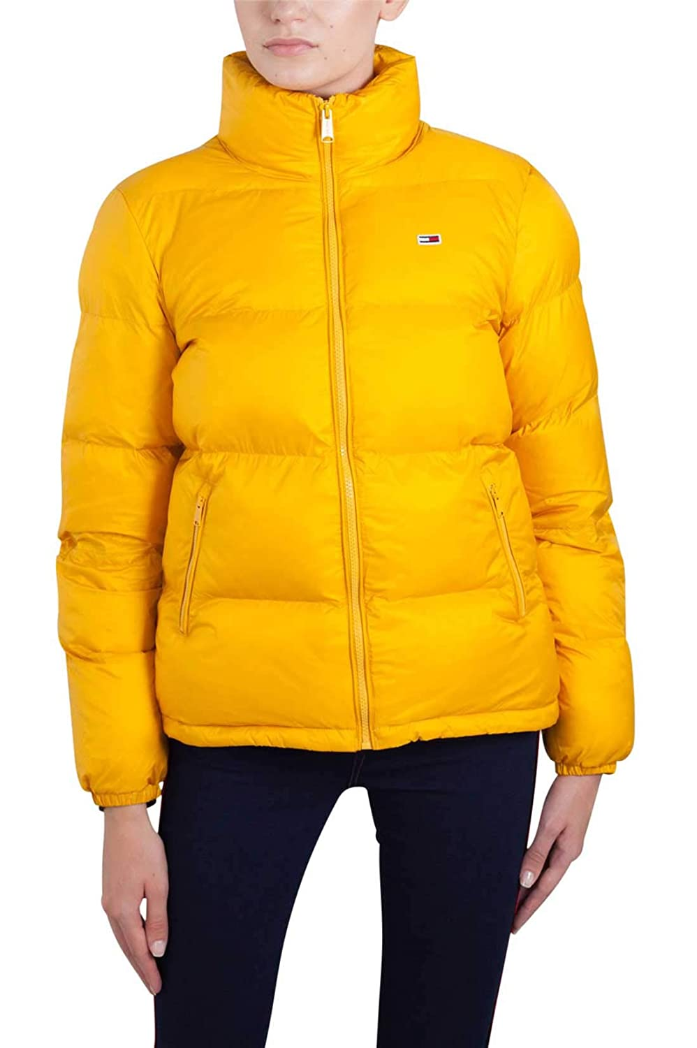 Tommy Hilfiger Women's Puffer Jacket with Down Fill Classics Collection Down Coat Tommy Jeans DW0DW05163