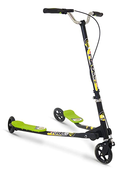 Amazon.com: Funbee Duo Plegable de 3 ruedas patinete ...