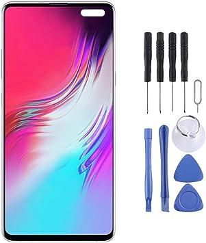 RTYUI Material sustituido pantalla AMOLED dinámico pantalla LCD y digitalizador Asamblea completa con el capítulo for Galaxy S10 5G reemplazo de la pantalla + Kit de reparación completa de herramienta: Amazon.es: Electrónica