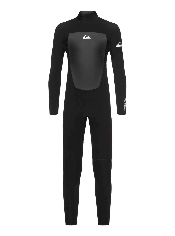 Quiksilverボーイズ3 /2 mm Prologue – Back zip Wetsuit B07DWCTTSN ブラック 16