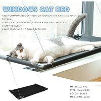 Pet Cat Bed Window Hammock Perch Basking Cushion Bed Pet Hanging Shelf Seat