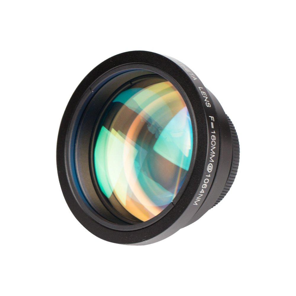 Cloudray F-Theta Scan Lens Field 70x70mm FL 100mm for 1064nm YAG Optical Fiber Laser Marker