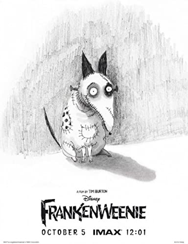 Frankenweenie 2012 S S Advance Movie Poster 12 5x18 At Amazon S Entertainment Collectibles Store