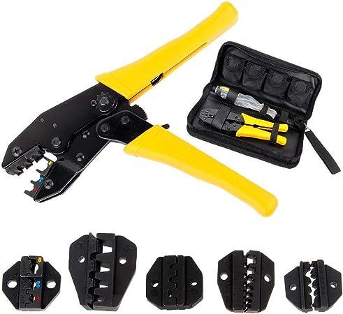 """9/"""" clé à cliquet pince à sertir pince fil de câble électrique sertir bornes sertissage tool kit"""