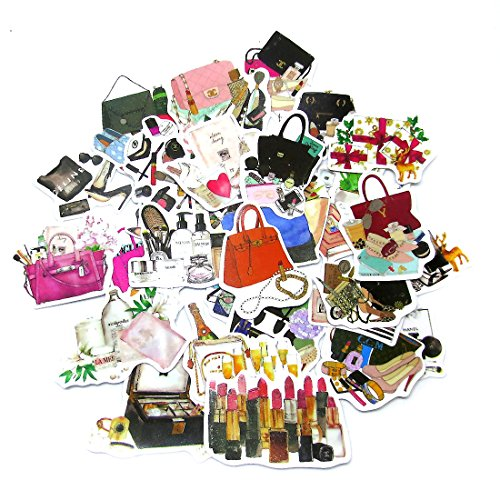 Fashion Sticker - DadaCrafts(TM) Fashion Bags Perfume 33pcs 1cm - 5.5cm Large Bag Packaged Stickers Sets