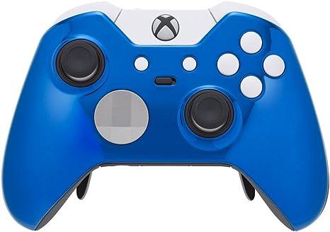 Xbox One Elite Controller - Polar Chrome Blue Edition: Amazon.es ...