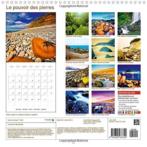 Le pouvoir des pierres 2015: Des pierres de bien-etre (Calvendo Nature) (French Edition) by Calvendo Verlag GmbH