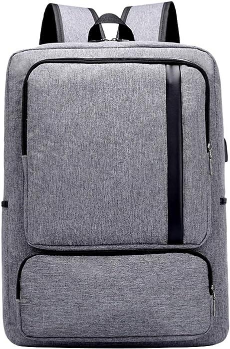 Business Travel Laptop USB Port Backpack for 15.6 Acer Aspire 7, AsusPRO, Strix