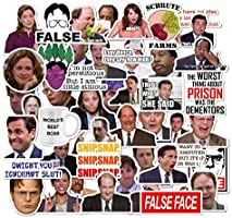 The Office Stickers Pack of 50 Stickers - The Office Stickers for Laptops, The Office Laptop Stickers, Funny Stickers for...
