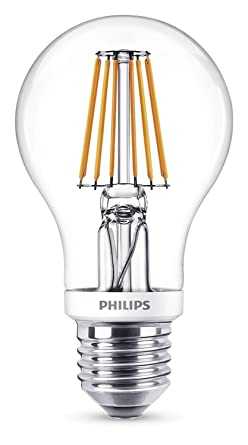 W Edison Screw Classic Bulb7 Led E27 Philips Filament W60 Light Clear hQsdCxtr